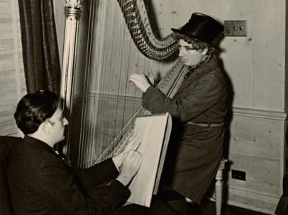 Dalí y Harpo