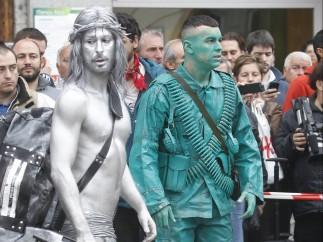 'Revolución' en Madrid