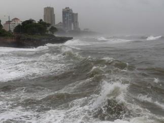 'Sandy' pone en alerta a la República Dominicana