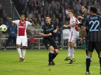 Gol del Ajax al Manchester City
