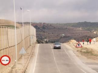 Menores inmigrantes en Melilla