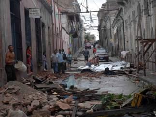 'Sandy' en Cuba