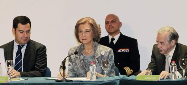 La reina Doña Sofía, en un congreso sobre 'familia y emancipación'