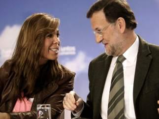 Rajoy y Sánchez-Camacho