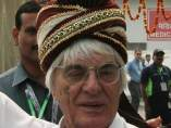 Ecclestone, en la India