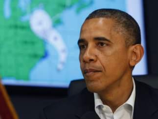 Obama, en una rueda de prensa sobre el huracán 'Sandy'
