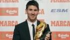 Ver v�deo Leo Messi recibe la Bota de Oro