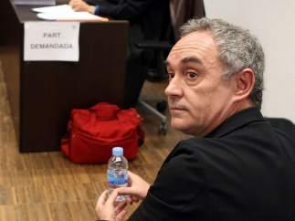 Juicio contra Ferran Adrià