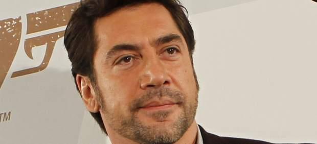 Javier Bardem, en la presentación en Madrid de 'Skyfall'.
