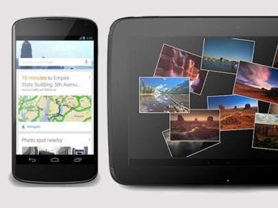 Nexus 4 y Nexus 10