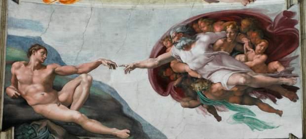 'La creación de Adán'