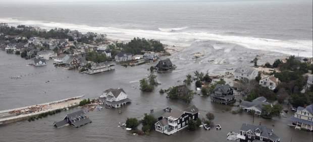 El huracán Sandy