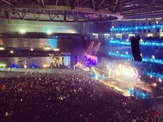 Fiesta en el Madrid Arena