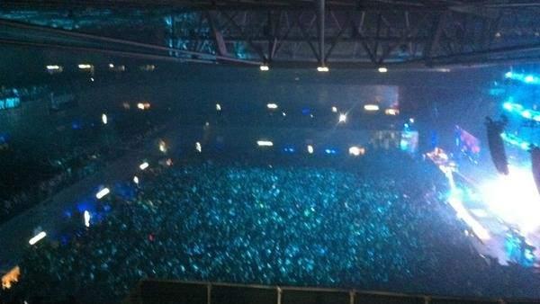 Lleno en el Madrid Arena