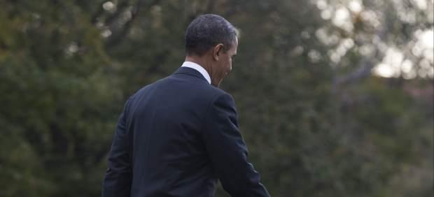 Obama, en la Casa Blanca