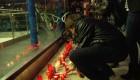 Vigilia por las fallecidas en Madrid