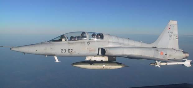 F-5 del ejército español