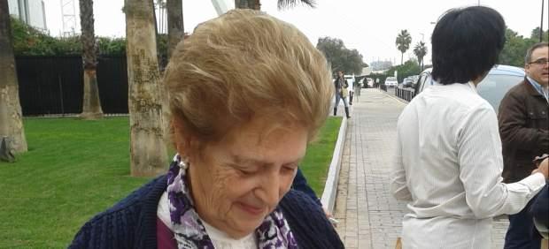 """Natividad Delgado, la 'abuela' del EBE '12': """"Empecé enviando mails y ya tengo un blog"""""""