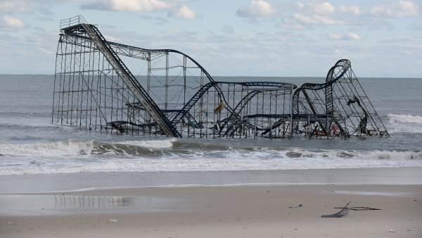 Destrozos de 'Sandy' en Nueva Jersey