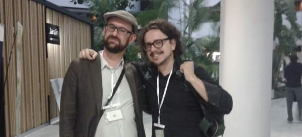 Ricardo Llavadero y Oscar Hormigos