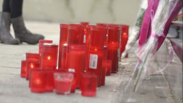 Homenaje a fallecidas en el Madrid Arena