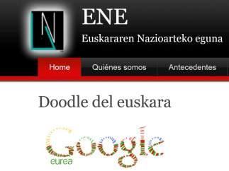 'Doodle' del Euskera