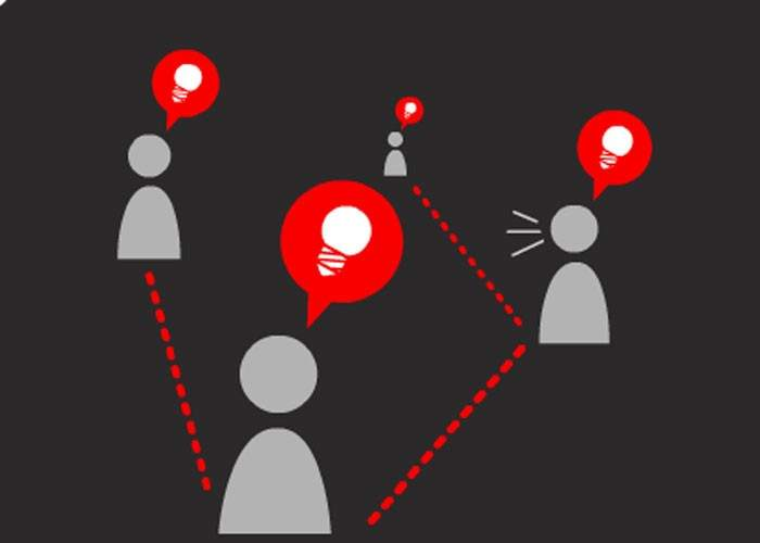 una plataforma en internet que conecta a las ideas novedosas con empresas y
