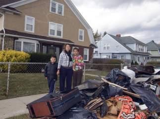 Long Island, tras el paso de 'Sandy'
