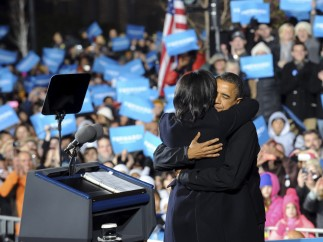 Obama cierra la campaña en Iowa