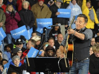 Springsteen pide el voto para Obama