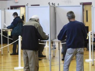 Votantes en Wrentham