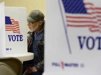 Votantes en Kansas