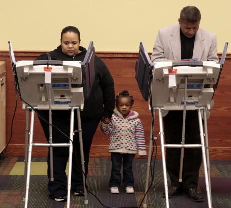 Primeros votos de la ma�ana