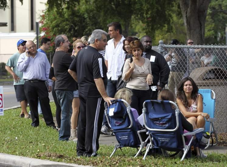 Votantes en Miami