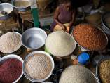 Mercado en Accra, Ghana