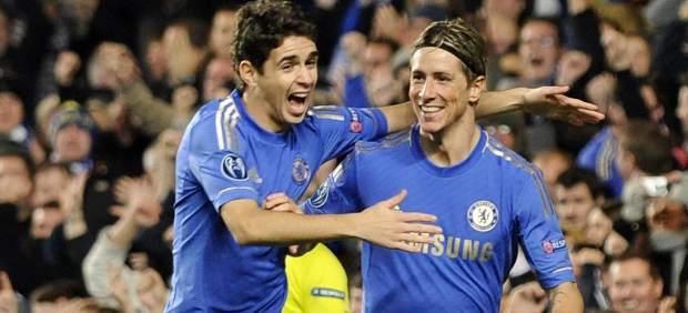 Torres y Oscar, del Chelsea