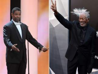 Denzel Washington y Morgan Freeman
