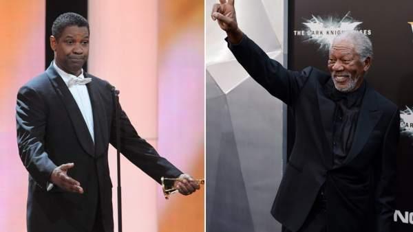 Denzel Washington y Morgan Freeman