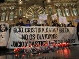 Protesta por lo ocurrido en el Madrid Arena