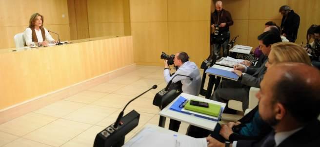 Ana Botella y sus concejales