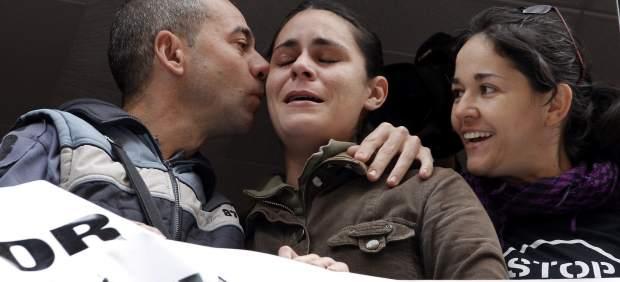 Desahucio paralizado en Valencia