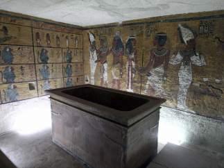 R�plica de la tumba de Tutankam�n