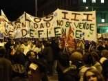 Manifestación Madrid huelga 14-N