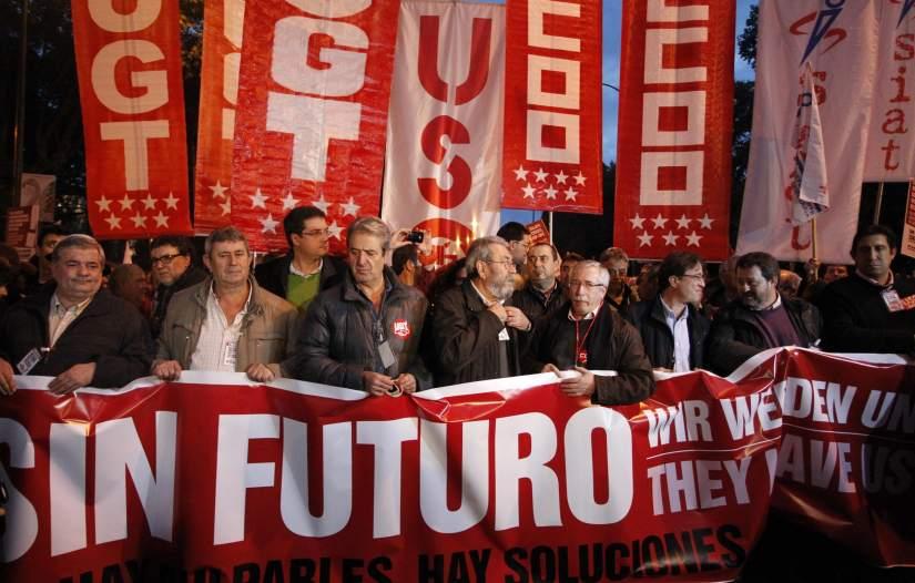 Marcha del 14-N en Madrid