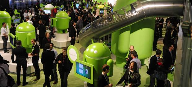 Android no tendrá zona propia en el Mobile World Congress