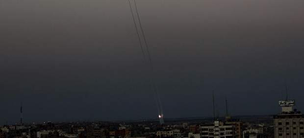 Tesi�n en la franja de Gaza