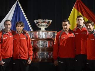 Equipo español Copa Davis