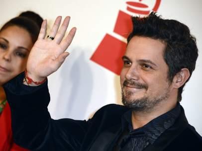 Alejandro Sanz en los Grammy Latinos