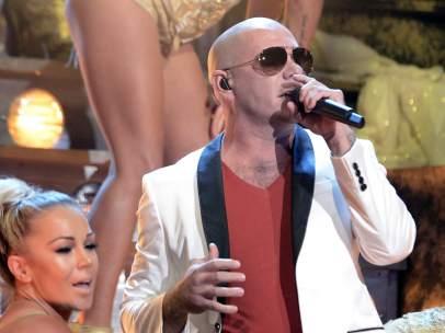 Pitbull en los Grammy