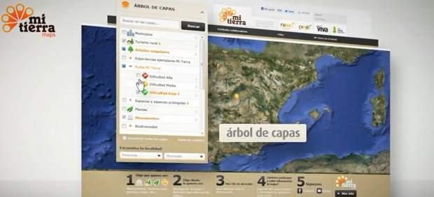 MiTierra Maps, una aplicación que nos acerca al mundo rural